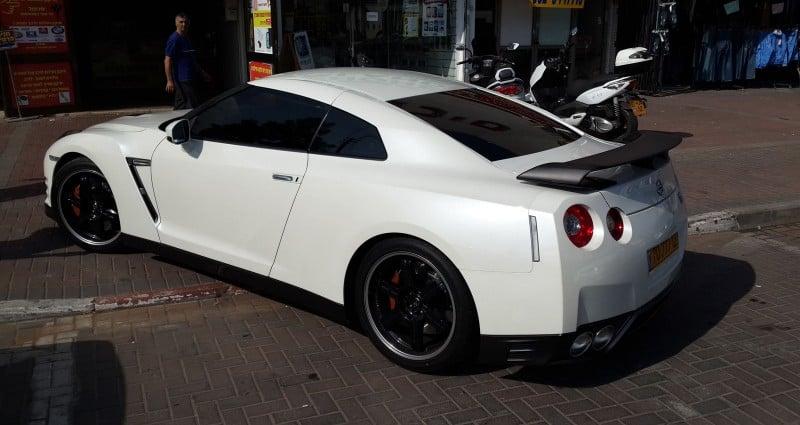 מיגון לרכב להגנה מפני שריטות לרכב Nissan GTR