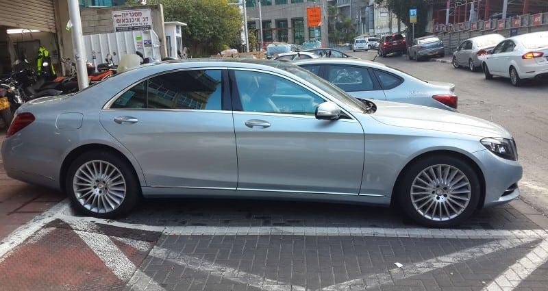 מיגון לרכב Mercedes נגד שריטות