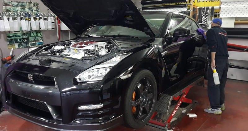 מיגון רכבים נגד אבנים בסאן פילם לרכב Nissan
