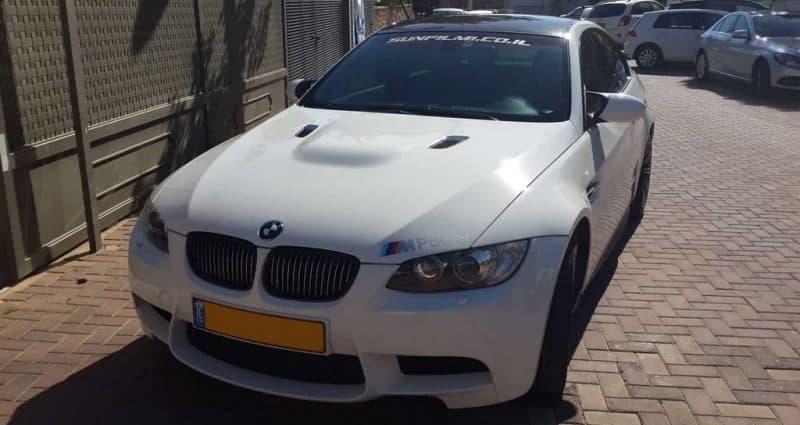 ציפוי הגנה לרכב BMW