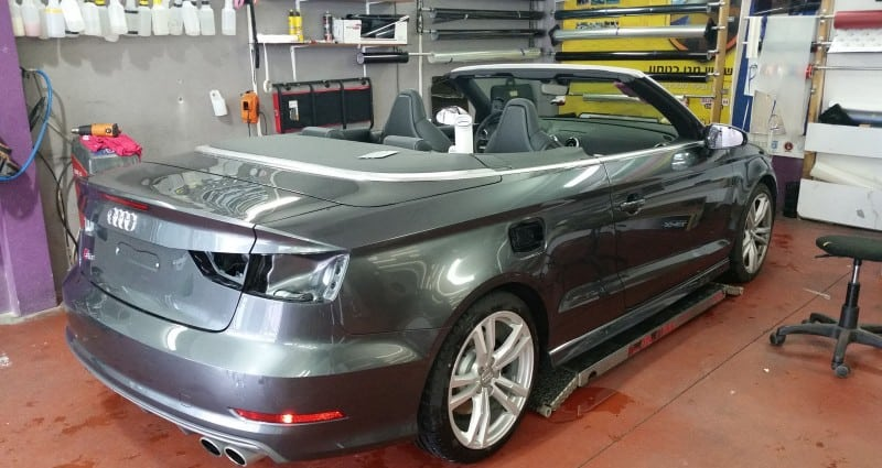 ציפוי מט ל-Audi S3