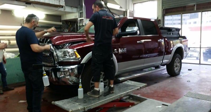ציפוי נגד שריטות לרכב Dodge