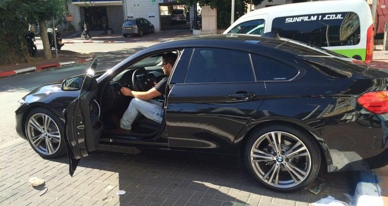 מיגון רכב BMW נגד אבנים