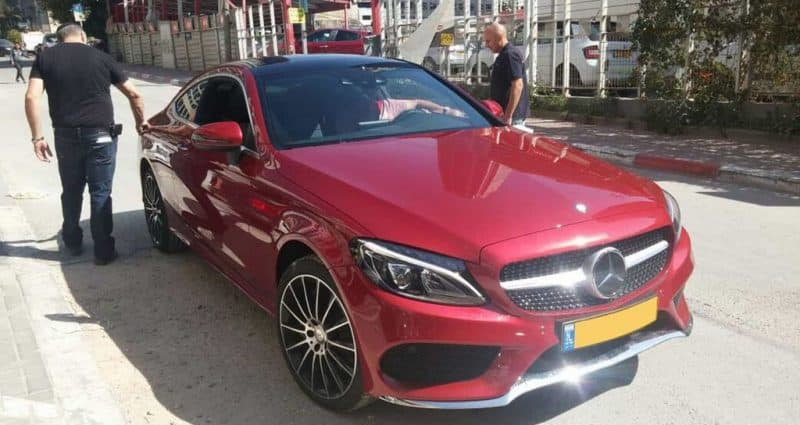 מיגון רכב Mercedes
