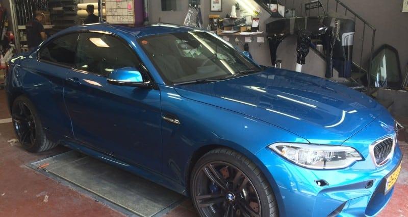 ציפוי לרכב BMW נגד שריטות