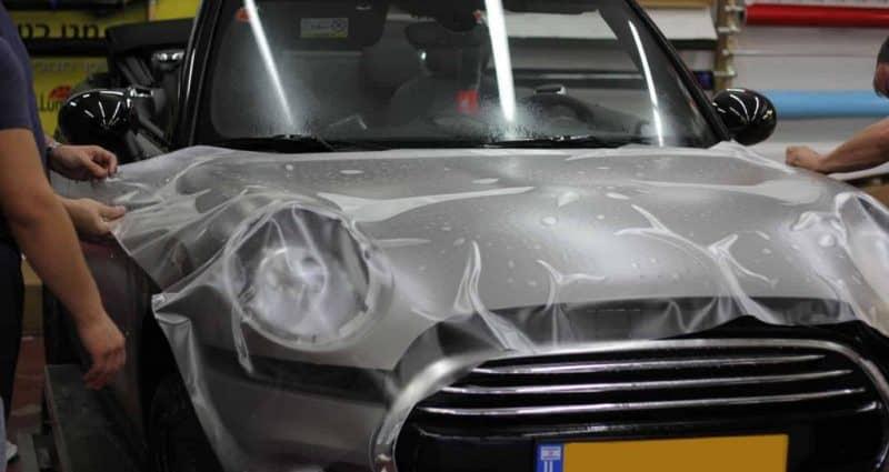 תהליך ציפוי רכב בציפוי מט