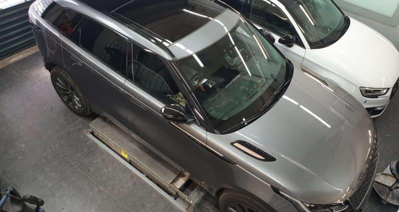 ציפוי מגן משריטות ומכות קלות לרכב Range Rover Velar
